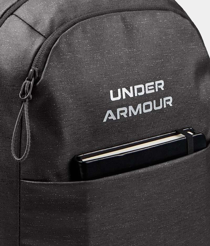 Batoh Under Armour Hustle Signature Backpack- GREY