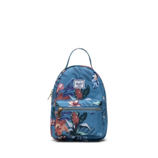 Batoh HERSCHEL Nova Mini - Summer Floral Heaven Blue