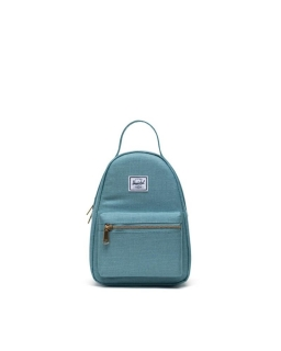 Batoh HERSCHEL Nova Mini Oil Blue Crosshatch