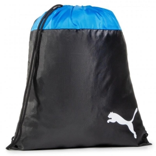 Vak PUMA TEAMGOAL 23 GYM SACK ELECTRIC BLUE LEMON