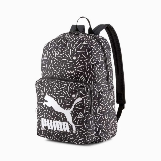 Batoh PUMA ORIGINALS BACKPACK WHITE DOODLE GRAPHIC