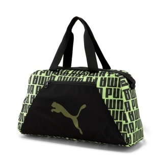 Taška přes rameno PUMA AT ESS GRIP BAG BLACK FIZZY YELLOW
