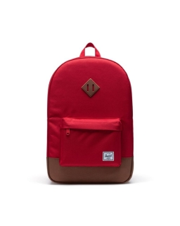 Batoh HERSCHEL Heritage Red/Saddle Brown