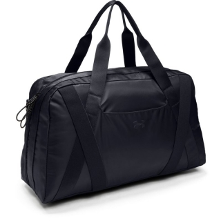 Taška přes rameno Under Armour Essentials 2.0 Duffel-BLACK