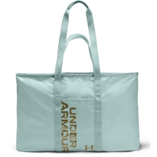 Taška přes rameno Under Armour Favorite Metallic Tote-BLUE