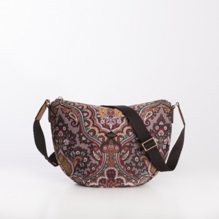Kabelka Oilily PAISLEY Coffee