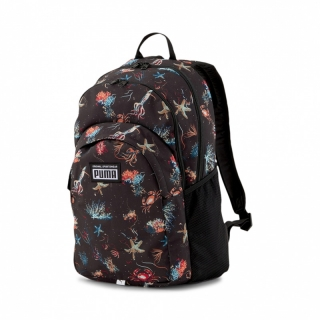 Batoh PUMA ACADEMY BACKPACK BLACK UNDERWATER AOP